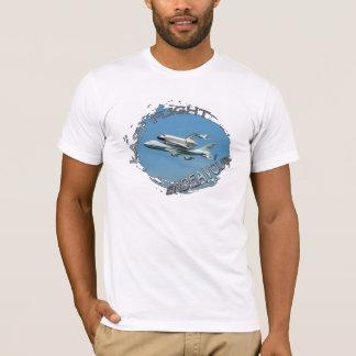 スペースシャトルの最後飛行ワイシャツ! Tシャツ