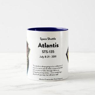 スペースシャトルの記念するマグ ツートーンマグカップ