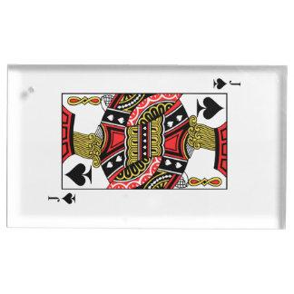 スペードのジャック-あなたのイメージを加えて下さい テーブルカードホルダー