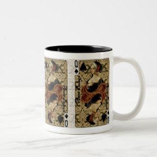 スペードのマグの女王 ツートーンマグカップ