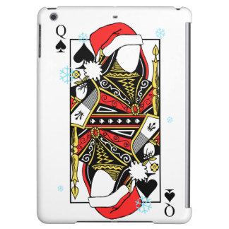 スペードのメリークリスマスの女王-あなたのイメージを加えて下さい iPad AIRケース