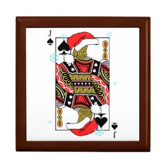 スペードのメリークリスマスジャック-あなたのイメージを加えて下さい ギフトボックス