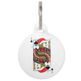 スペードのメリークリスマスジャック ペット ネームタグ