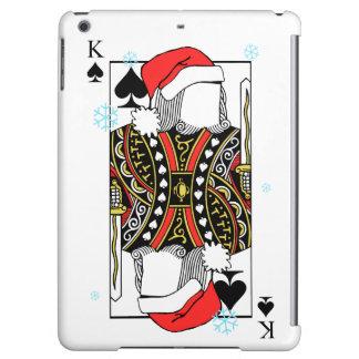 スペードのメリークリスマス王-あなたのイメージを加えて下さい iPad AIRケース