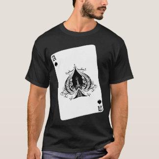 スペードのレトロのエース Tシャツ