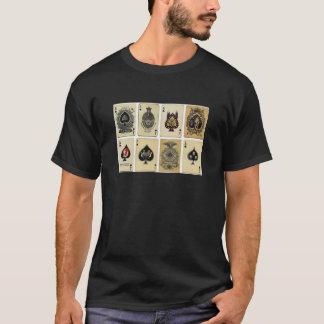 スペードのヴィンテージのエース Tシャツ