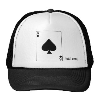 スペードの帽子のエース 帽子