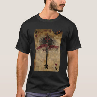 スペードのTシャツのエース Tシャツ