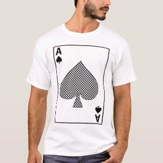 スペードカードTシャツのエース Tシャツ