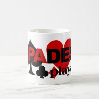 スペードプレーヤーのマグ コーヒーマグカップ