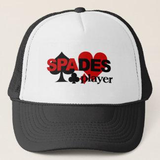 スペードプレーヤーの帽子 キャップ