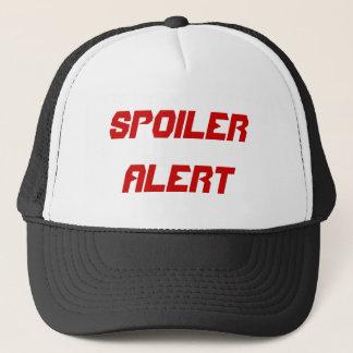 スポイラー警報 キャップ