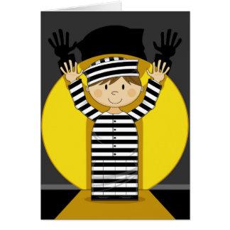 スポットライトの漫画によって脱出する囚人 カード