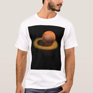 スポットライトの3dバスケットボール tシャツ