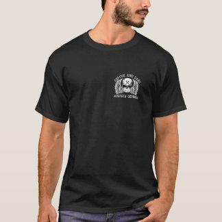 スポンサー黒いT Tシャツ