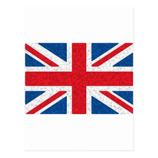 スポンジの英国国旗 ポストカード