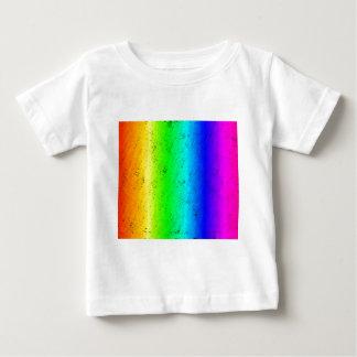 スポンジの軽打の虹 ベビーTシャツ