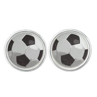 スポーツがテーマのフットボール カフブローチ
