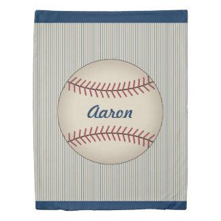 スポーツのカスタムはベッドカバーの野球の羽毛布団カバーをからかいます 掛け布団カバー
