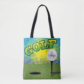 スポーツのゴルフデザイン- DIYの文字 トートバッグ