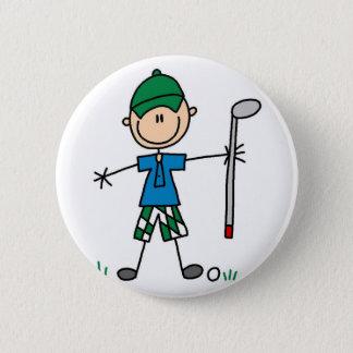 スポーツのゴルフボタン 5.7CM 丸型バッジ