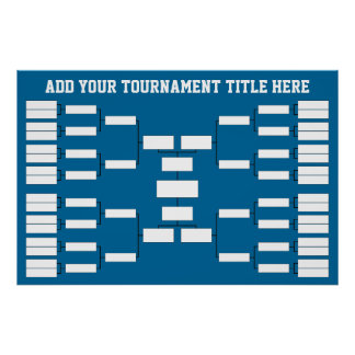 スポーツのトーナメントブラケット ポスター