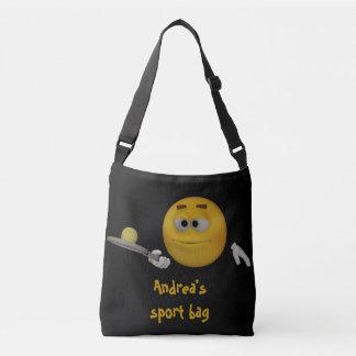 スポーツのバッグのテンプレート クロスボディバッグ