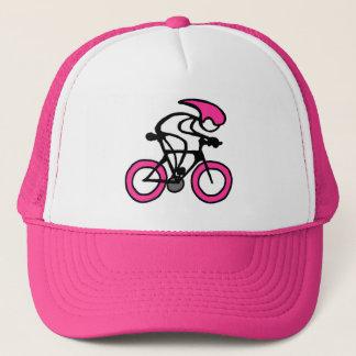 スポーツのピンクのレーサーが付いている棒 キャップ