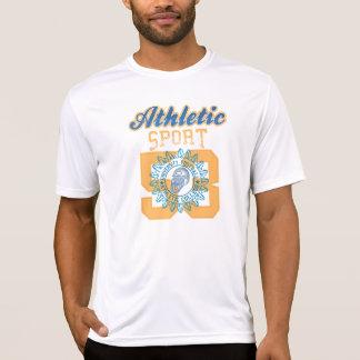 スポーツのプリントの人のスポーツTekの競争相手のTシャツ Tシャツ