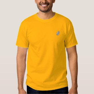 スポーツのボーダーアイスホッケー用パック 刺繍入りTシャツ