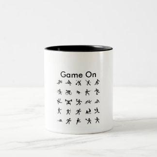 スポーツのマグのゲーム ツートーンマグカップ