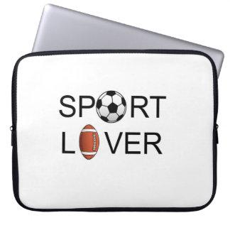 スポーツの恋人のラップトップスリーブ ラップトップスリーブ