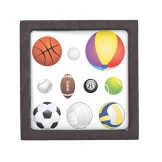 スポーツの球 ギフトボックス