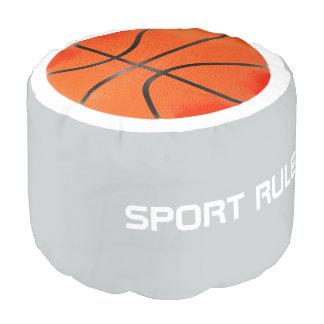 スポーツの規則! バスケットボール ラウンドクッション