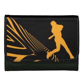スポーツの野球の財布