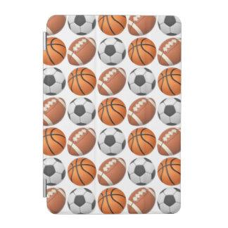 スポーツのEmojiのiPadの小型頭が切れるなカバー iPad Miniカバー
