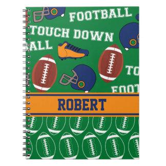 スポーツは子供のためのフットボールパターンを個人化します ノートブック