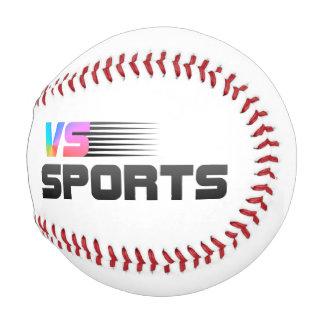 スポーツロゴ対 野球ボール