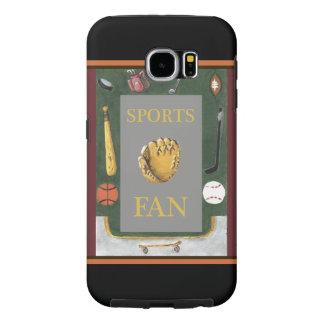 スポーツ・ファン装置のSamsungの銀河系S6の箱 Samsung Galaxy S6 ケース