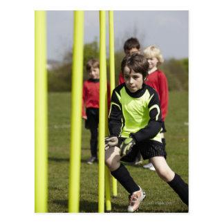 スポーツ、ライフスタイル、フットボール3 ポストカード