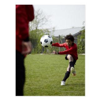 スポーツ、ライフスタイル、フットボール4 ポストカード