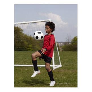 スポーツ、ライフスタイル、フットボール6 ポストカード