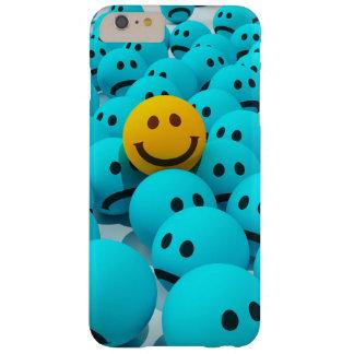スマイリーフェイスのおもしろいのイメージ BARELY THERE iPhone 6 PLUS ケース