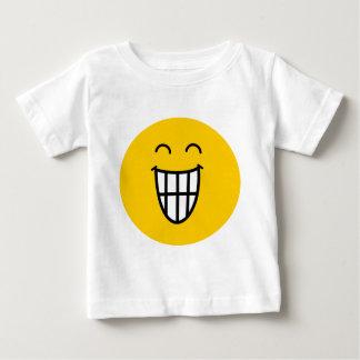 スマイリーフェイスのまわりで冗談を言うこと ベビーTシャツ