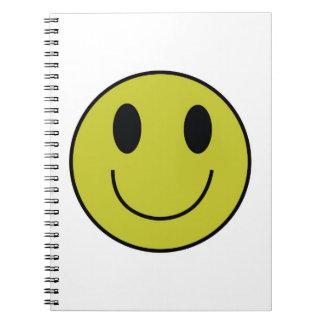 スマイリーフェイスのノート ノートブック