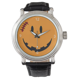 スマイリーフェイスのハロウィンのスタイルID224 腕時計