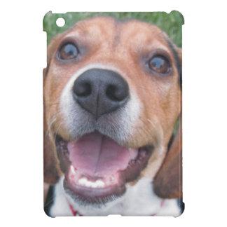 スマイリーフェイスのビーグル犬 iPad MINI CASE