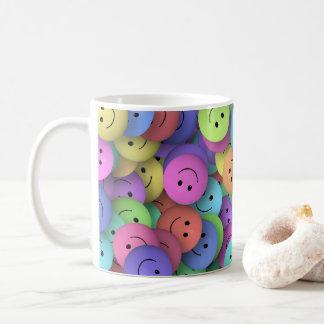 スマイリーフェイスのマグのステインのタンブラー コーヒーマグカップ