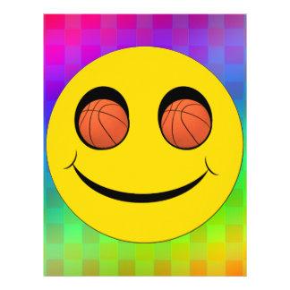 スマイリーフェイスはバスケットボールを遊ばします レターヘッド