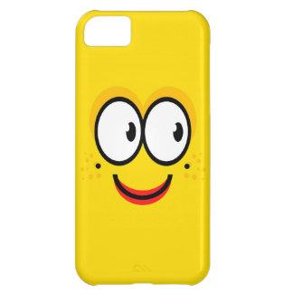 スマイリーフェイス- iPhone 5cケース iPhone5Cケース